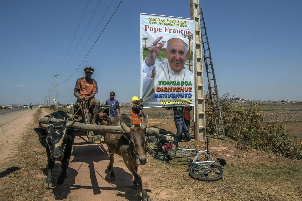 Papa Francesco Madagascar